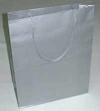 Shopper in luxury paper ( 320 x 420 x 120 mm )