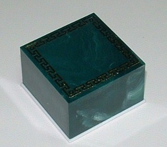 Plastic box ring 4 x 4 x 2,5